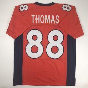 Demaryius Thomas Denver Orange Football Jersey